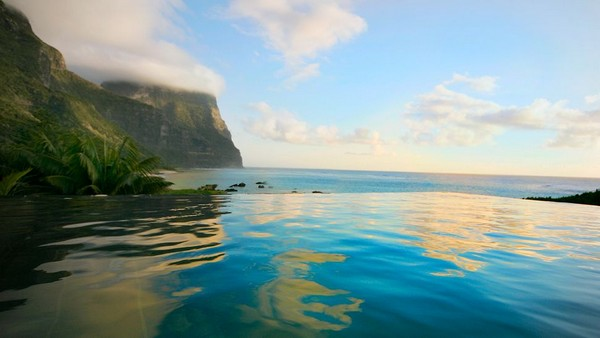Plunge Pool at Capella Lodge, Lord Howe Island, Australia