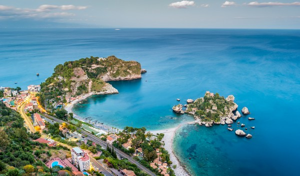 Taormina, Aeolian Islands, Sicily