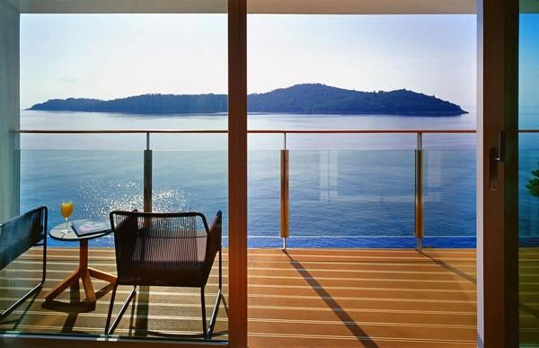 View from Villa Dubrovnik, Croatia
