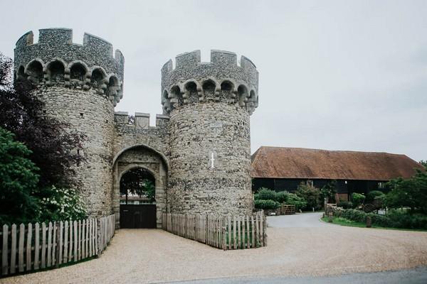 Cooling Castle Barn wedding venue