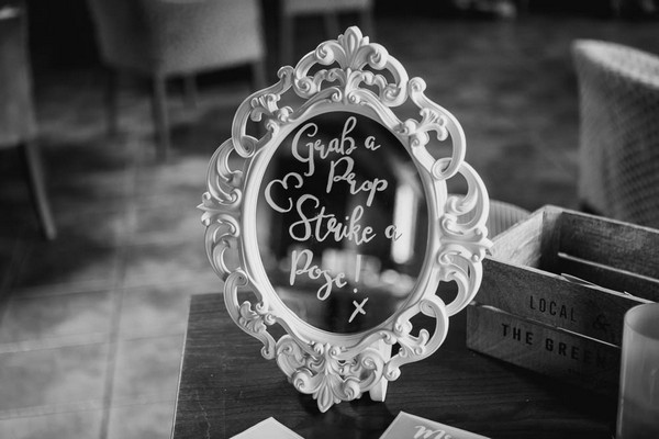 Message written on mirror