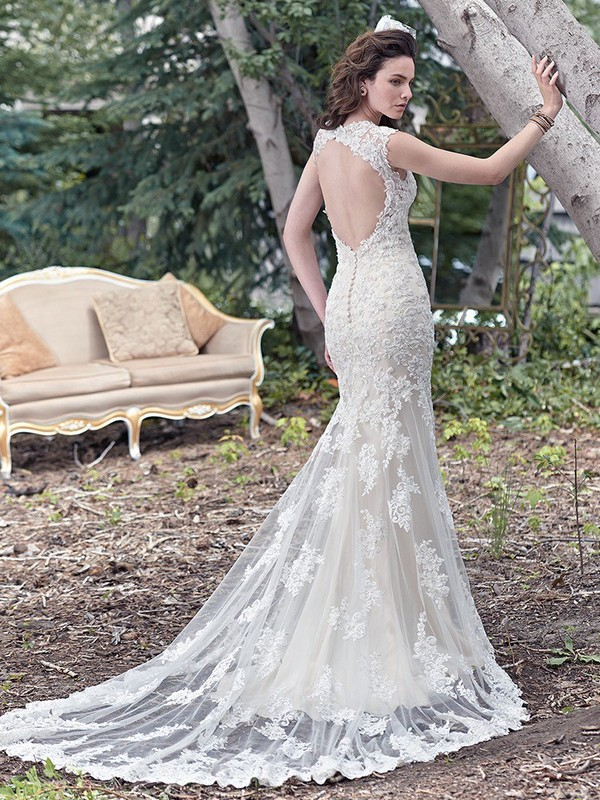 Collins Wedding Dress with Chapel Train