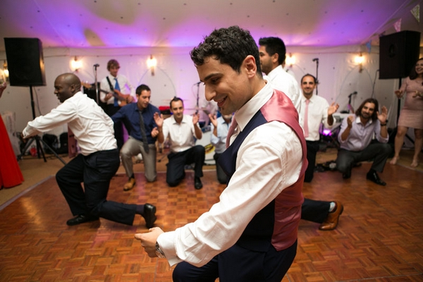 Dance Routine at Multicultural Wedding