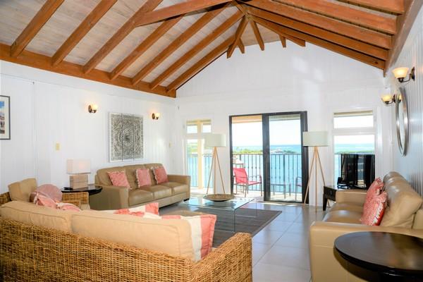 Lounge Area at The Sea House, Antigua