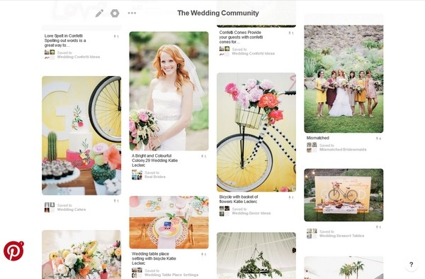 Pinterest Wedding Idea Pins