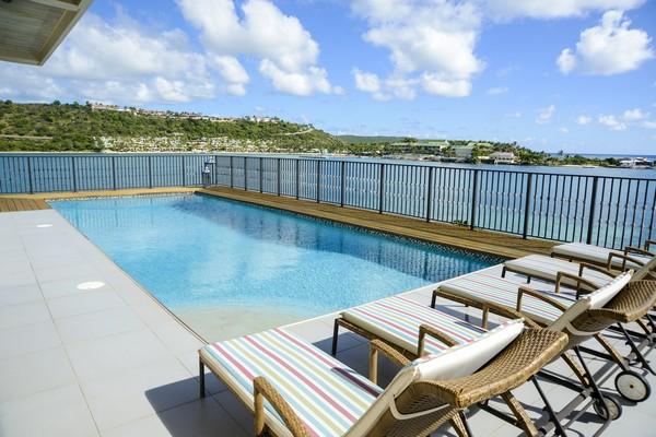Swimming Pool at The Sea House, Antigua