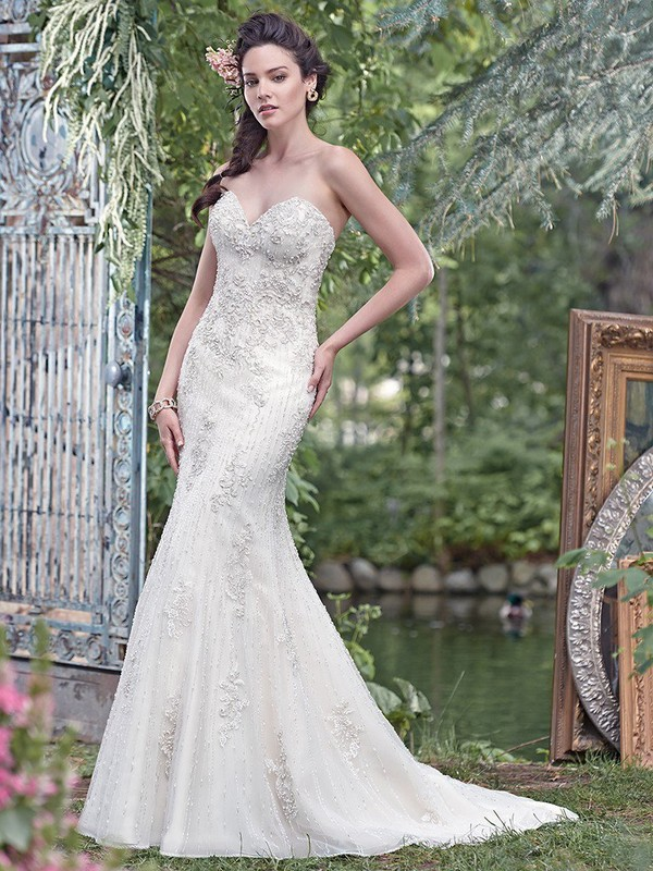 Radella Wedding Dress with Court Train