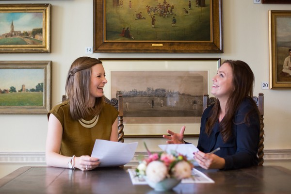 Sophie Brooke and Kate Wilkinson of Deer Park Country House Hotel