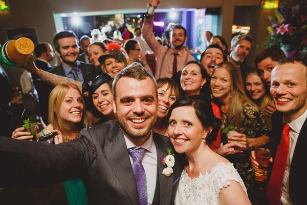 Wedding Recreation of Ellen DeGeneres Oscars Selfie