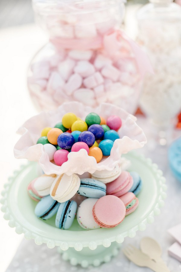 Macarons and sweets