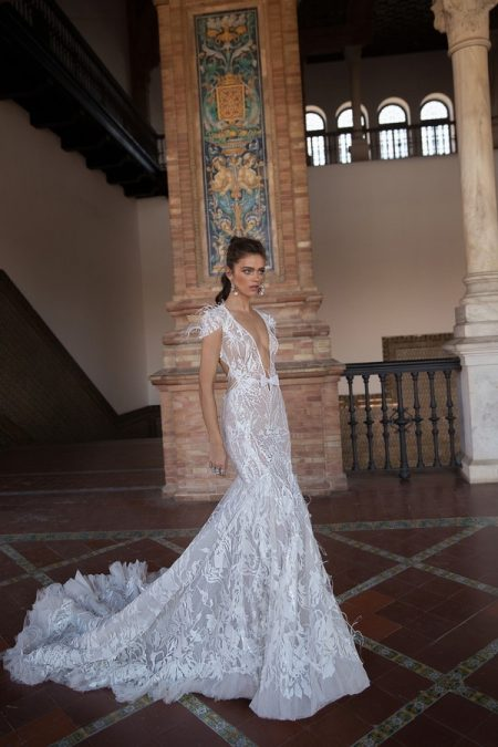 18-102 Wedding Dress from the BERTA Seville F/W 2018 Bridal Collection