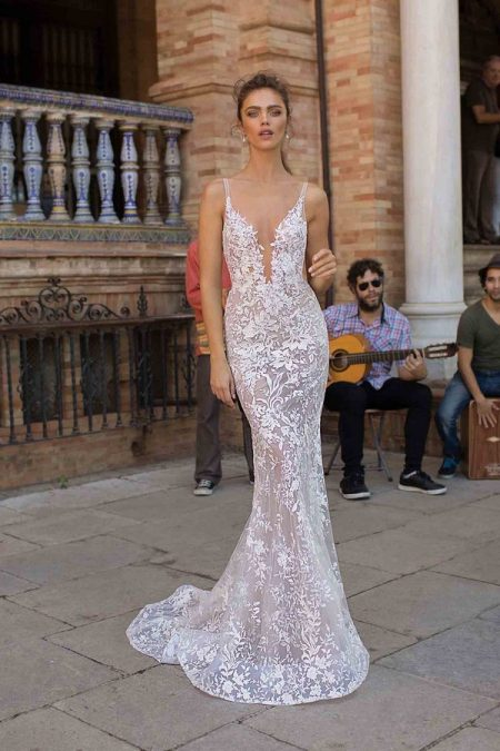 18-108 Wedding Dress from the BERTA Seville F/W 2018 Bridal Collection