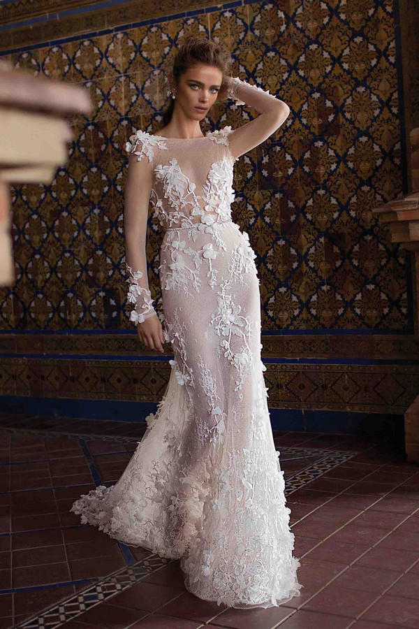 18-109 Wedding Dress from the BERTA Seville F/W 2018 Bridal Collection