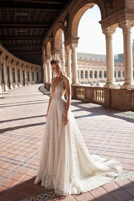 18-110 Wedding Dress from the BERTA Seville F/W 2018 Bridal Collection