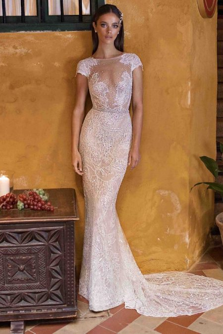 18-114 Wedding Dress from the BERTA Seville F/W 2018 Bridal Collection