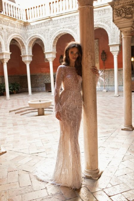 18-118 Wedding Dress from the BERTA Seville F/W 2018 Bridal Collection