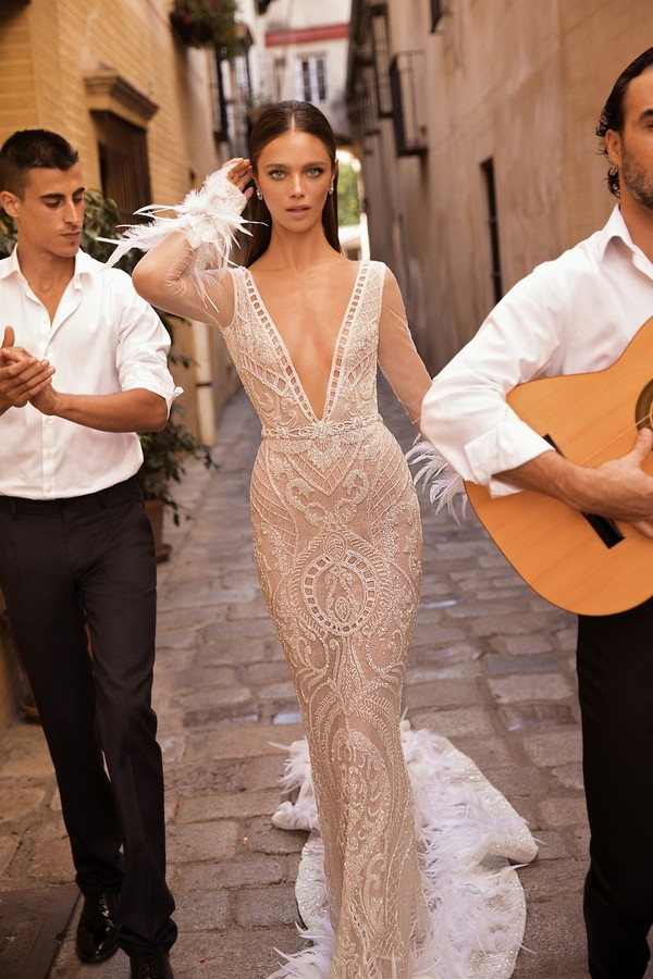 18-123 Wedding Dress from the BERTA Seville F/W 2018 Bridal Collection