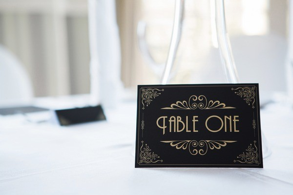 1950s Styled Table Number