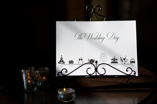 The Wedding Day order card