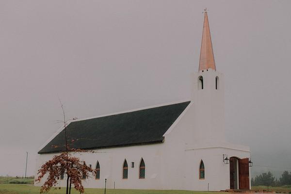 St. Clement's Chapel at Vondeling vineyard
