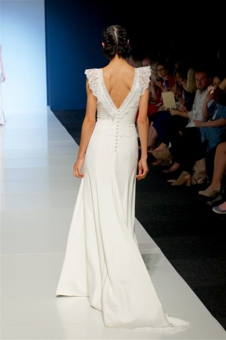 Back of Allegra Wedding Dress from the Sassi Holford 2018 Bridal Collection