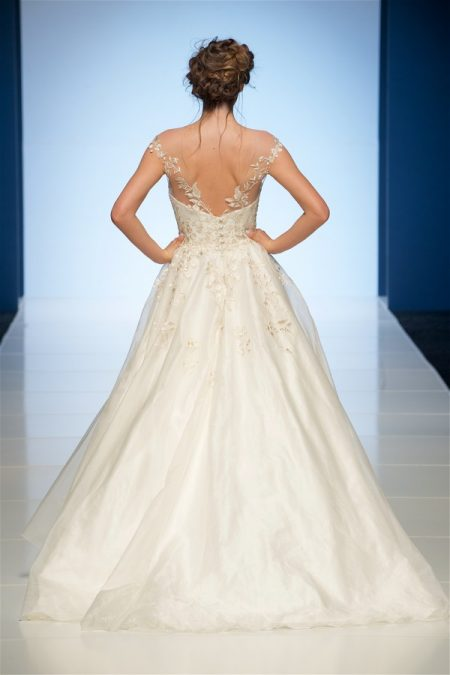 Back of Beth Wedding Dress from the Sassi Holford 2018 Bridal Collection