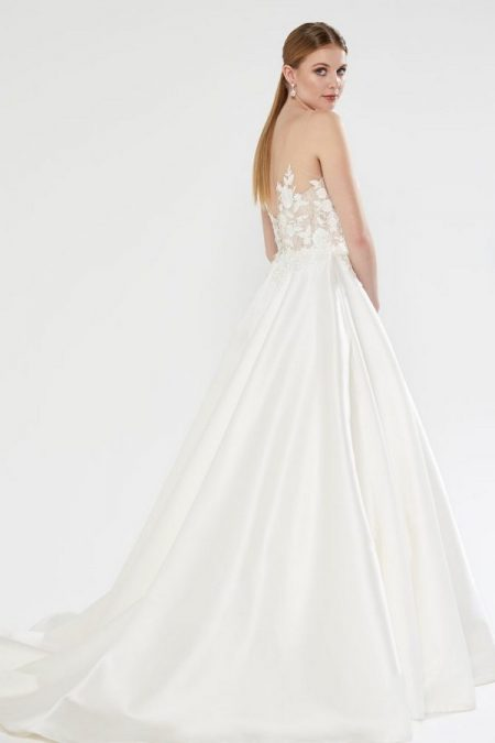 Back of Bronte Wedding Dress from the Sassi Holford 2018 Bridal Collection