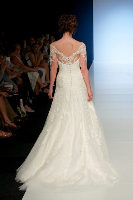 Back of Celeste Wedding Dress from the Sassi Holford 2018 Bridal Collection