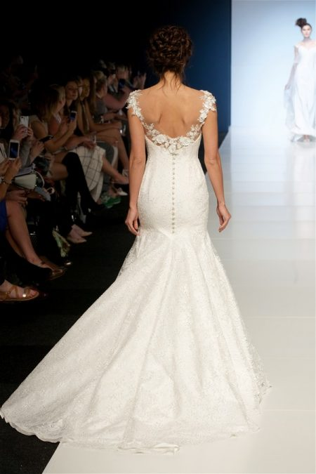 Back of Delilah Wedding Dress from the Sassi Holford 2018 Bridal Collection