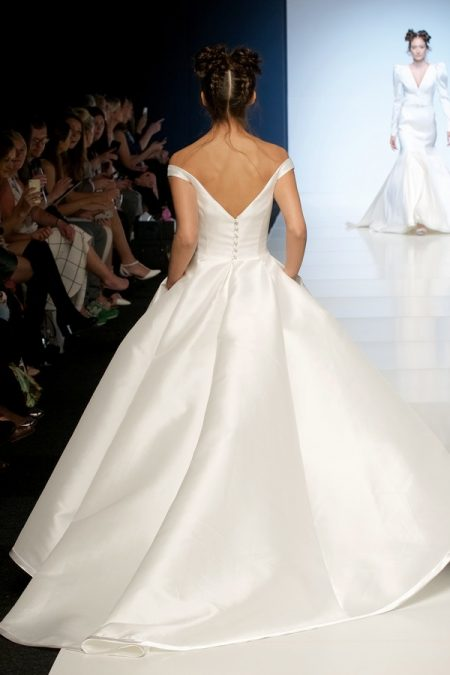 Back of Ester Wedding Dress from the Sassi Holford 2018 Bridal Collection