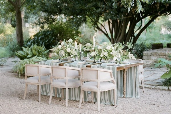 Simple, Romantic Garden Wedding Inspiration