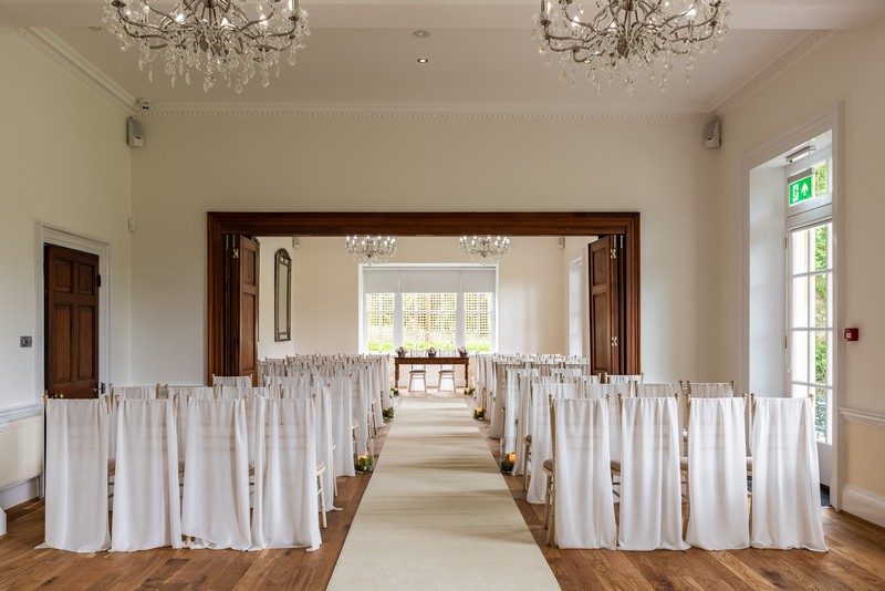 Holbrook Manor Wedding Ceremony Room