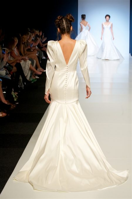 Back of Ida Wedding Dress from the Sassi Holford 2018 Bridal Collection