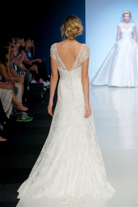Back of Inga Wedding Dress from the Sassi Holford 2018 Bridal Collection