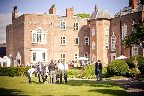 Spring Wedding at Iscoyd Park, Shropshire