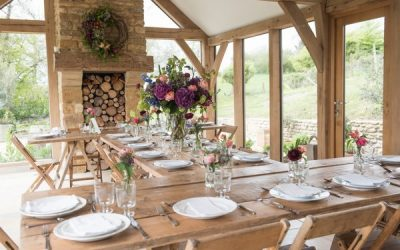 Rustic Wedding Table Styling with Homegrown Flowers