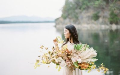 Serene Wedding Inspiration on Galiano Island