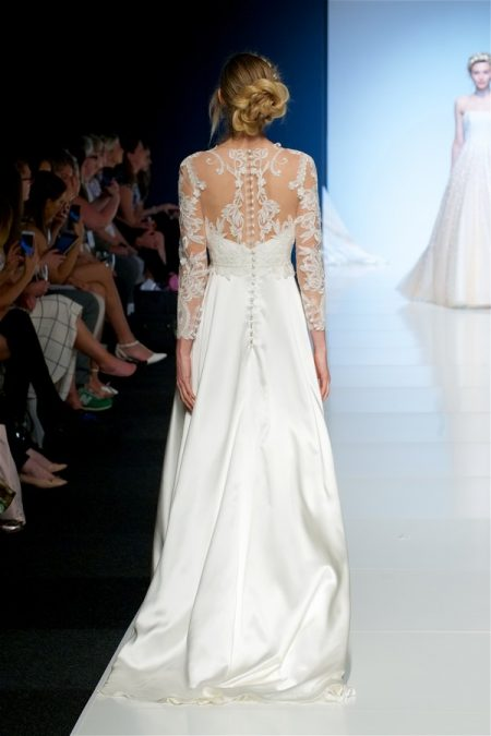 Back of Marcia Wedding Dress from the Sassi Holford 2018 Bridal Collection