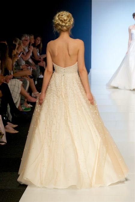 Back of Miranda Wedding Dress from the Sassi Holford 2018 Bridal Collection