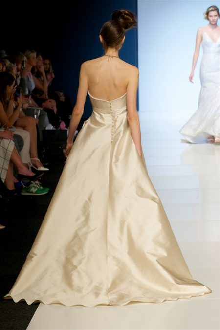 Back of Olivia Wedding Dress from the Sassi Holford 2018 Bridal Collection