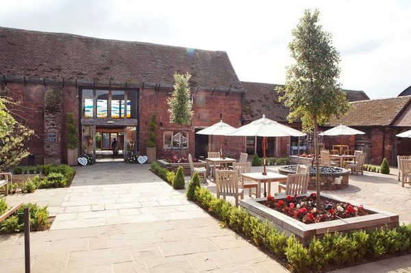 Courtyard of Packington Moor, Staffordshire