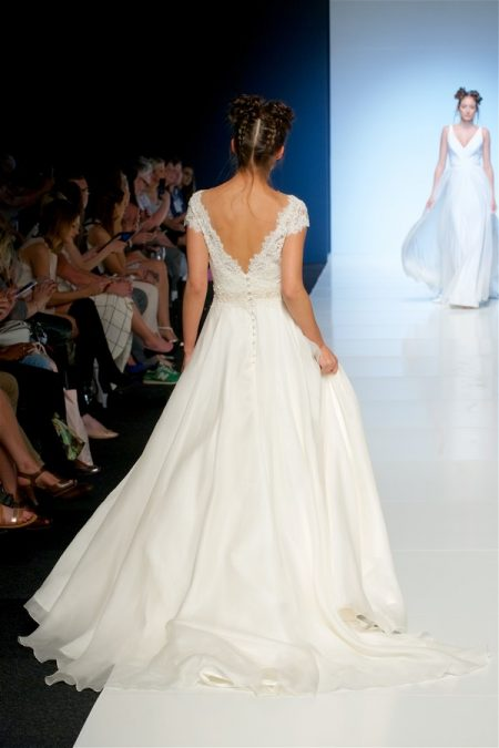 Back of Paloma Wedding Dress from the Sassi Holford 2018 Bridal Collection