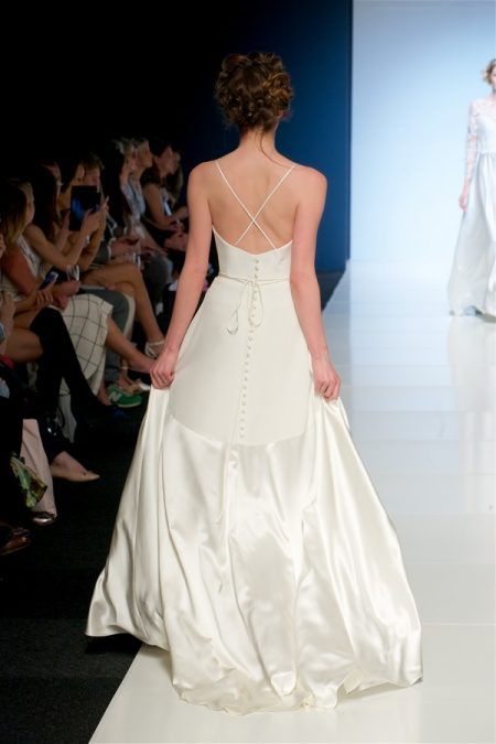 Back of Rowan Wedding Dress from the Sassi Holford 2018 Bridal Collection