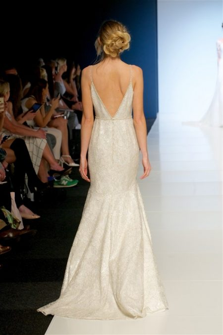 Back of Tarrin Wedding Dress from the Sassi Holford 2018 Bridal Collection