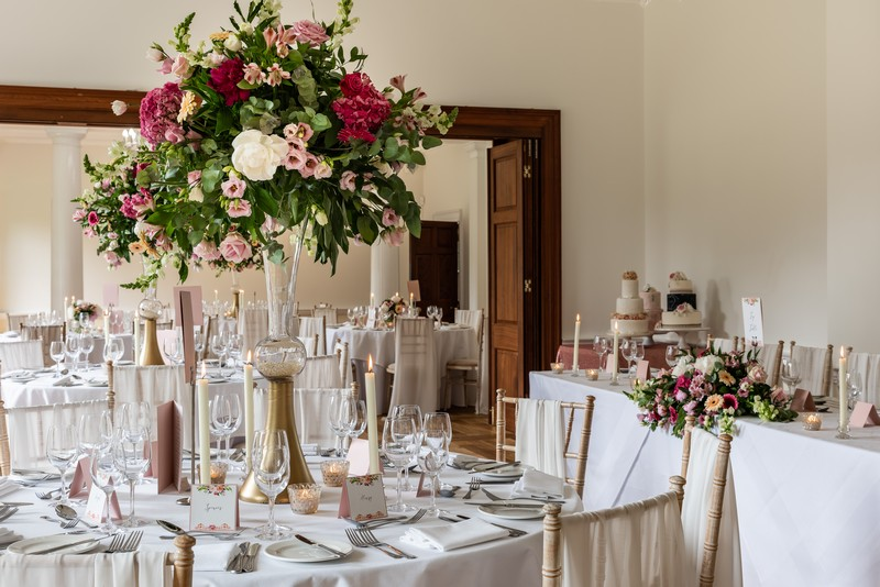 Wedding Tables at Holbrook Manor