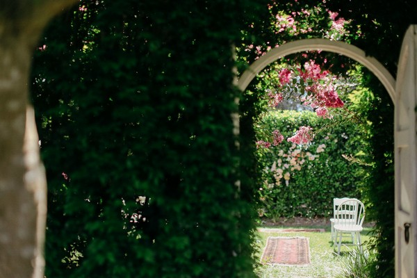 Gate in hedge at Merribee
