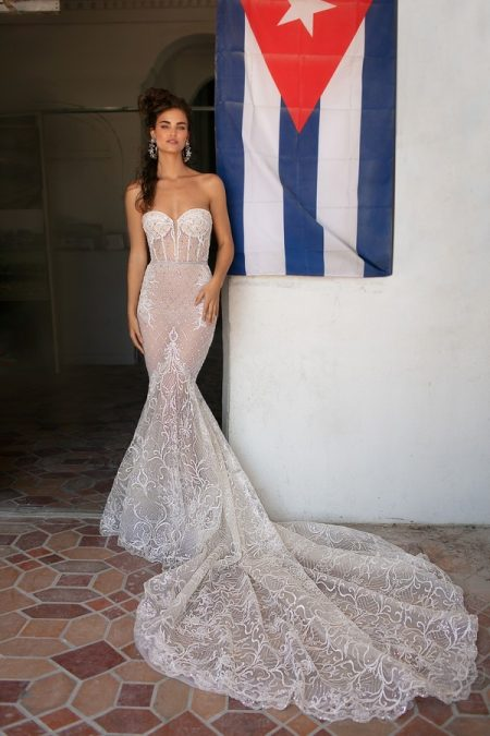 19-03 Wedding Dress from the BERTA Spring/Summer 2019 Bridal Collection