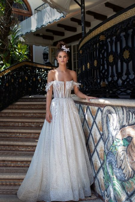 19-05 Wedding Dress from the BERTA Spring/Summer 2019 Bridal Collection