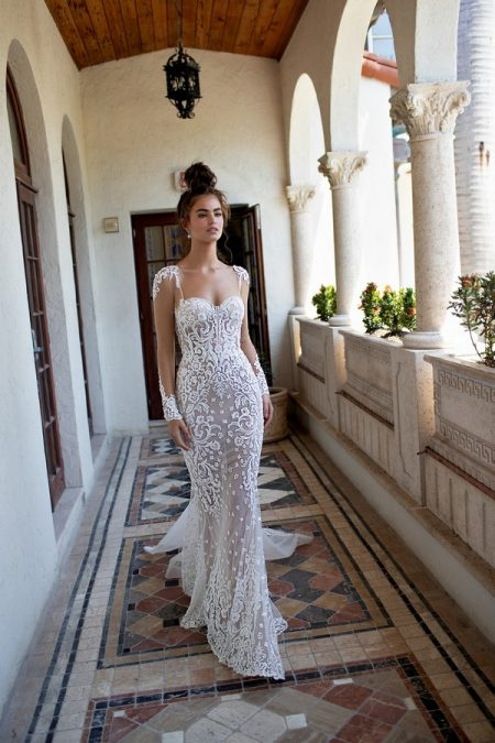 19-09 Wedding Dress from the BERTA Spring/Summer 2019 Bridal Collection