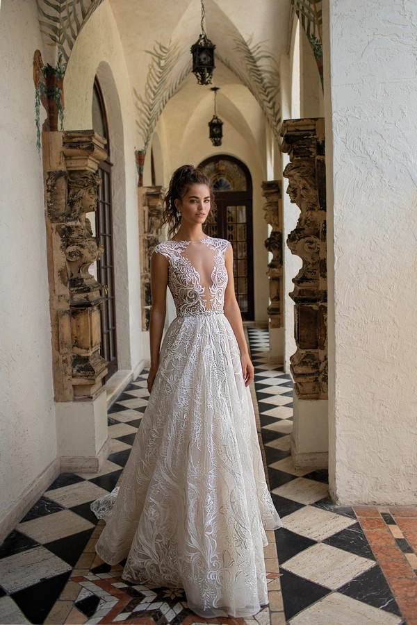 19-10 Wedding Dress from the BERTA Spring/Summer 2019 Bridal Collection